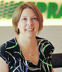 Abbey Bacack, employee. Read her story about working at Praxair.